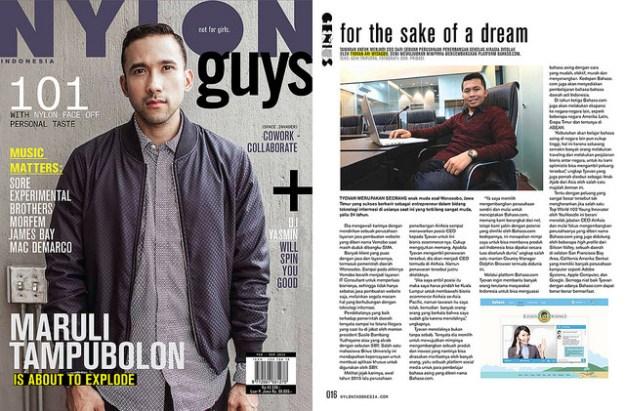 Featured on Nylon Magazine.