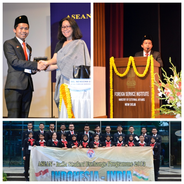 As undergraduate student in 2013, Tyovan was selected to lead 24 young achievers from all around Indonesia to represent Indonesia for ASEAN-INDIA diplomatic visit. Tyovan and his delegates had a mission to build the diplomatic connection among students in India and ASEAN countries and brought Indonesia as the key leader in the region.