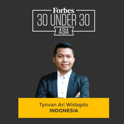 Tyovan 30 Under 30 Forbes